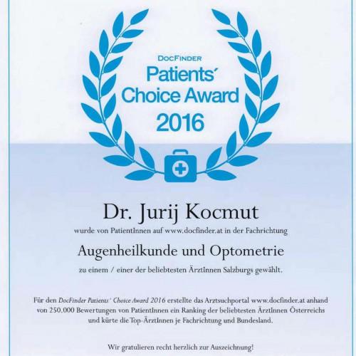 patientenbewertung ddr. kocmut docfinder augenarzt